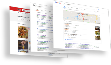 Local Business Pages on Google My Business, Bing and Yelp