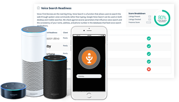 Voice Search Listings